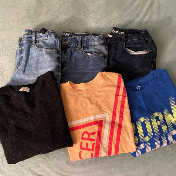 Boys size (14/16) Cat & Jack Jeans & Shirts Bundle